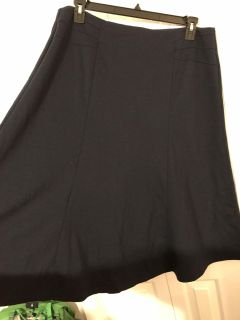 Navy Cato brand A-Line Skirt Size 16W