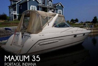 1999 Maxum 3300 SCR
