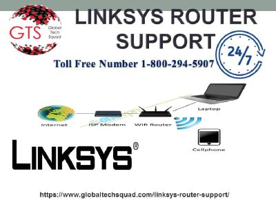 Linksys Router Support Toll Free: 1-800-294-5907