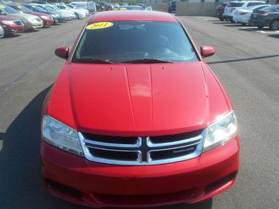 2011 Dodge Avenger Mainstreet (Red)