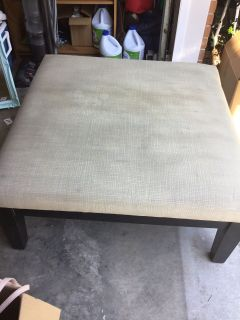 LARGE 35 OTTOMAN - MUST PICK UP / NO HOLDS