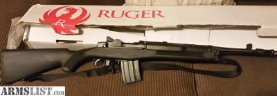For Sale: Ruger Mini 14 .556 tactical