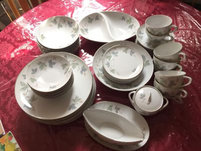 Sango Claire,Fine China Dinneware Set Made in Japan, 54 Pcs