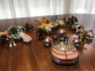 Imaginext to Star Wars lot