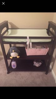 Changing table with extras - see pic