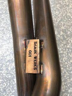 Shark Werks 991 Carrera Sport Exhaust - Cross Pipe