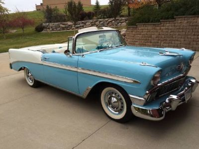 1956 Chevrolet Bel Aire Convertible- complete restoration done