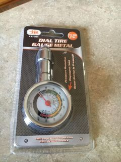Dial Tire Guage Metal new