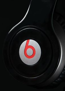 Red beat headphones