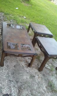 $160, 1 Living Room Table and 2 in table