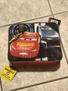 NEW CARS SINGLE LUNCH BOX