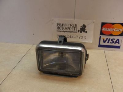 Purchase 84 HONDA TRX200 TRX 200 OEM FRONT HEAD LIGHT LAMP HEADLIGHT motorcycle in Fort Myers, Florida, United States, for US $39.94