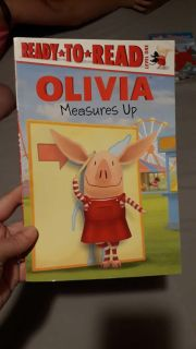 Ready To Read Level 1.... Olivia Measures Up
