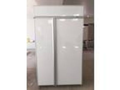 Sub-Zero Built in Refrigerator. White. Great Condition.