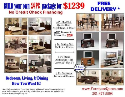 $1,239, Whole House 14pc Package Youll save some GREEN with Furniture Queen