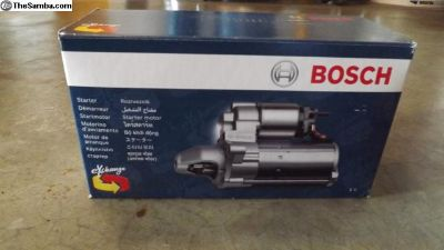 Bosch Remanufactured Starter SR17X New