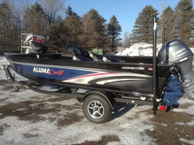 2019 Alumacraft COMP 165 CS Aluminum Fish Boats Hutchinson, MN