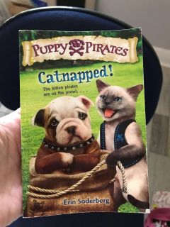 Puppy Pirates paperback book. The kitten Pirates are on the prowl. Reading level medium