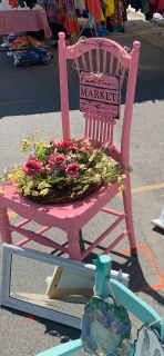 Flower pot chairs