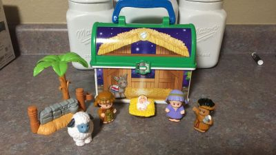 Fisher Price Nativity On the Go