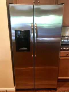GE Side by Side Stainless Steel Refrigerator