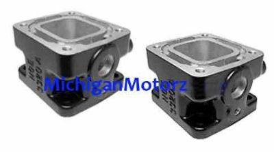 """Find MerCruiser HGE 5.0L, 5.7L Exhaust Manifold 3"""" ALUMINUM Spacer Blocks - HGE3320A motorcycle in Madison Heights, Michigan, United States, for US $141.75"""
