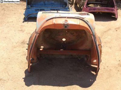 71-73 super beetle front clip, apron