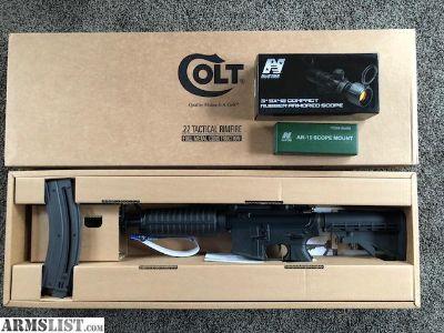 For Sale: Colt AR-22