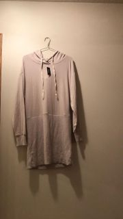 NWT Express One Eleven Hooded Sweater Dress