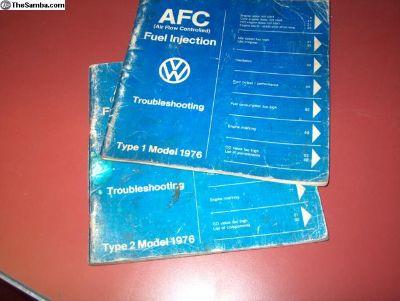 VW Tech. Books