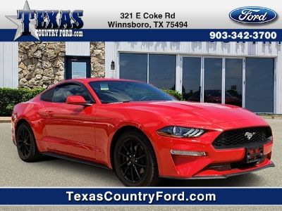 2018 Ford Mustang EcoBoost (Race Red)