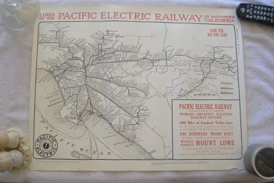 """PACIFIC ELECTRIC RAILWAY"" Poster"