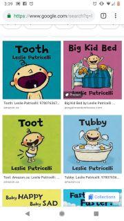 ISO: Leslie Patricelli Books