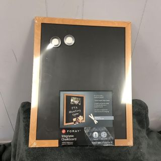 Magnetic chalkboard 11 x 14 chalk, magnets and mounting brackets included