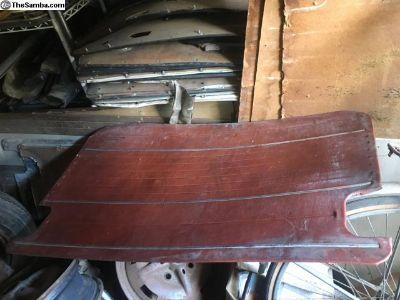 Interior panels red deluxe door & rear side