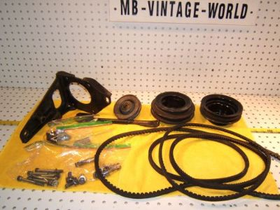Find Mercedes W111,W109,W113 280SE/SL 6cyL York AC mounting bracket/Belt /Pully 1 Kit motorcycle in Rocklin, California, United States, for US $825.00