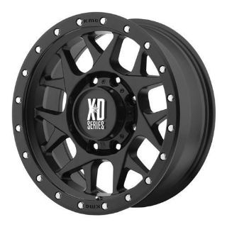 Purchase XD Wheels XD127 Bully, 20x9 with 5 on 5 Bolt Pattern - Black XD12729050700 motorcycle in Coppell, Texas, United States, for US $309.05