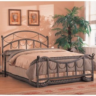 Whittier Queen Iron Bed with Rope Detail