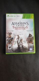 Xbox one and 360 Assassin's Creed America's collection