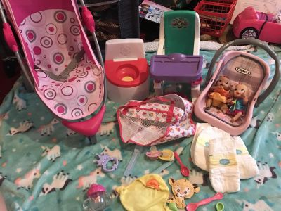24 piece baby doll lot