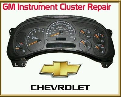 Purchase 03-06 Repair service GM Chevy Silverado Instrument Cluster Gauge Stepper Motor motorcycle in Palm Harbor, Florida, United States, for US $64.99