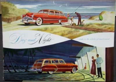 Sell 1949 Buick Estate Wagon Roadmaster 79 Super 59 Color Sales Brochure Original motorcycle in Holts Summit, Missouri, United States, for US $30.00