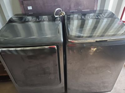 Samsung washer and dryer set 600.00