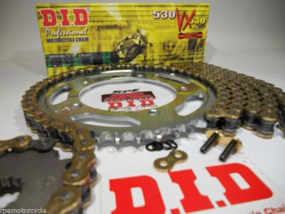 Purchase '08/13 HONDA CBR1000rr DID X-RING Quick Acceleration Chain and Sprocket kit motorcycle in Whittier, California, US, for US $209.95