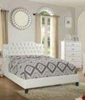 Queen bed with mattress $350