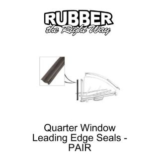 Buy 1961 1962 1963 Ford Thunderbird Quarter Window Seals - pair motorcycle in San Diego, California, United States, for US $29.20