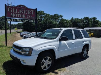 2005 Chevrolet Trailblazer LS (White)