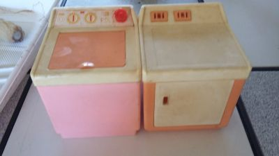 Rare Vintage Barbie Doll Washer and Dryer