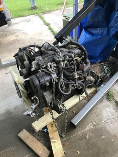 Selling motor and transmission