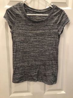 Justice Grey Tee SZ 14 good Condition